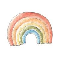 Wandsticker Regenbogen