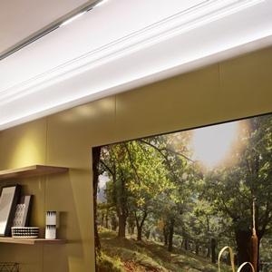 Inspiration Lichtleiste Wohnzimmer